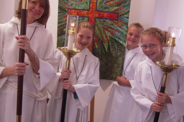 Nativity acolytes