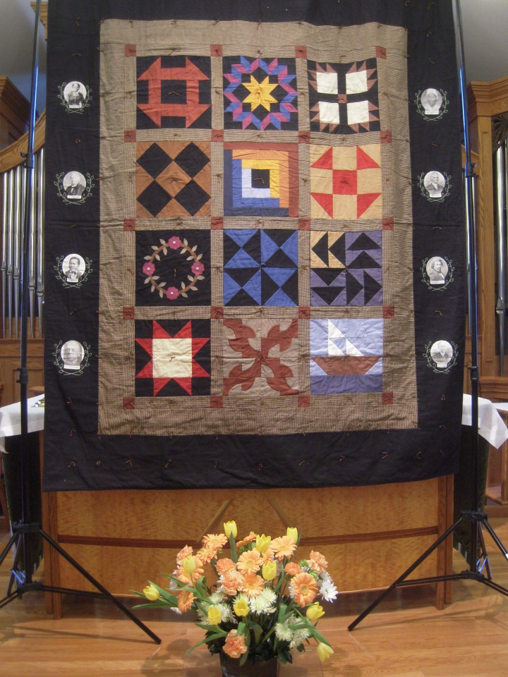 A Quilt representing the Civil Rights movement