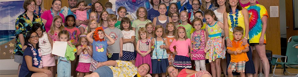 Group photo from our 2014 VBS class